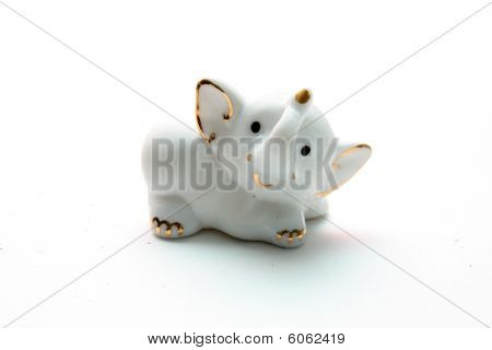 Porcelain elephant