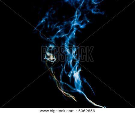 smoke, swirls and art-magic smoke pollution skywriting poster