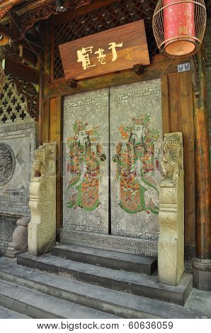 Chinese doorway