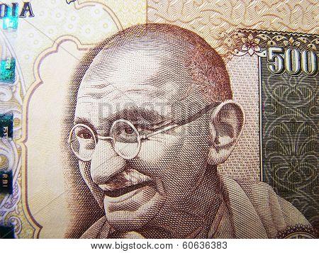 Mahatma Gandhi On Indian Rupee Currency