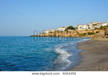Beach on Mediterranean Sea