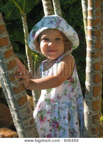 Tropical Child Portrait 1
