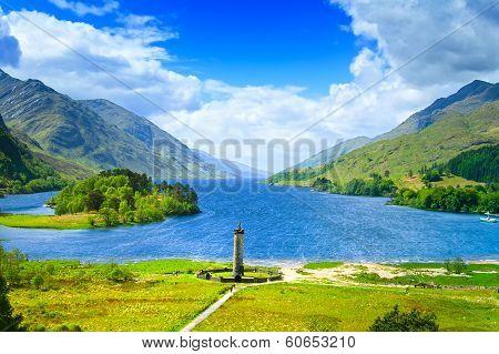 Loch Shiel Lake.