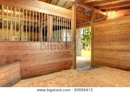 Horse Stable Barn Stall