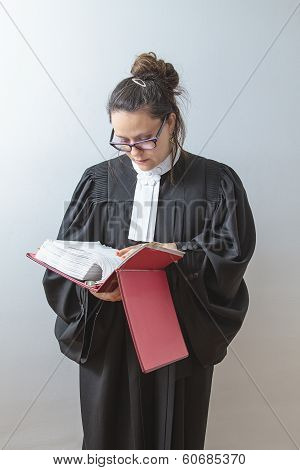 Reading The Law Book