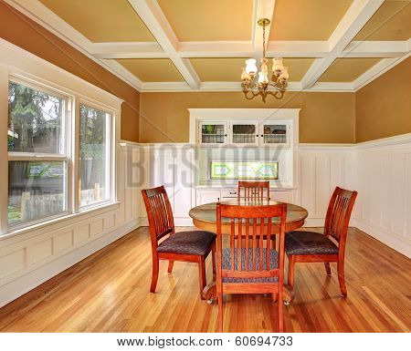 Dining Room In An Old House