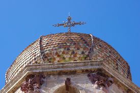 Detail of the Oristano Cathedral