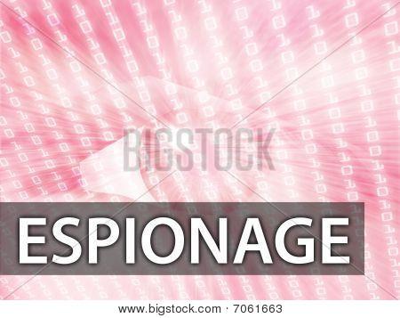 Espionage Illustration