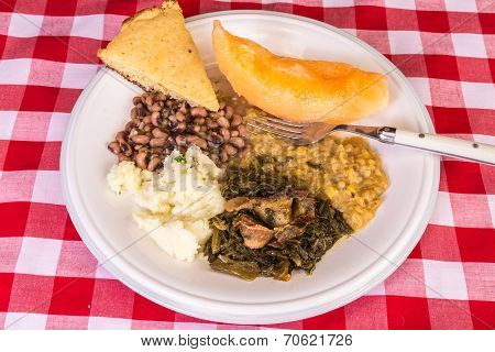 Country Cooking Vegetable Plate