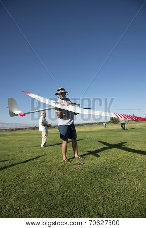 Ready to Launch RC Sailplane