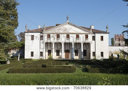 The Villa Valmarana (also known as Valmarana Scagnolari Zen) is a Renaissance villa situated in Lisiera a locality of Bolzano Vicentino Province of Vicenza northern Italy. Designed by Andrea Palladio it was originally built in the 1560s poster