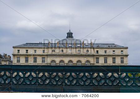 Mairie Et Theatre De Bayonne. France