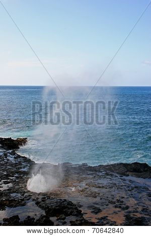 Spouting Horn Blowhole