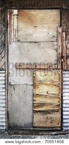 Old Shaky Wooden Door