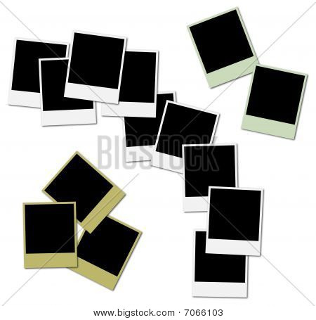 Colored Frames For Photo Collage