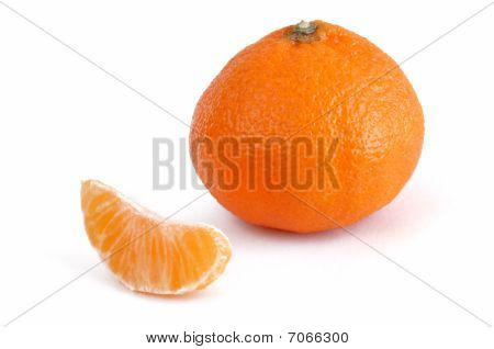 Clementine Tangerine And Single Section