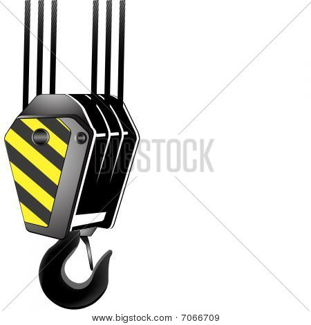 Crane Hook With room for your text