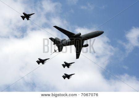 Dutch Air Force Flyby