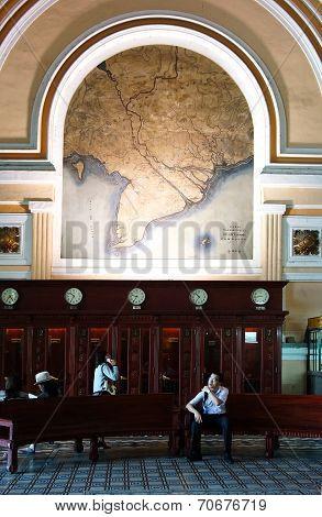 Ho Chi Minh Post Center Interior