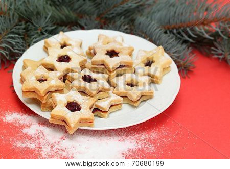 Christmas Candy  Called Linz Cookies