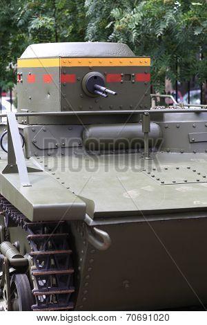 The Amphibious Scout Tank
