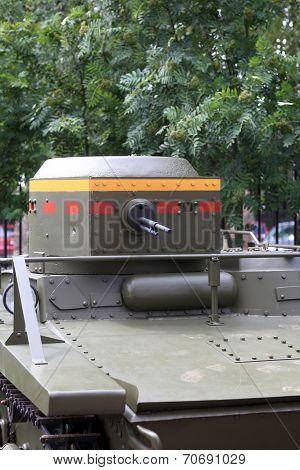 Soviet Amphibious Light Tank
