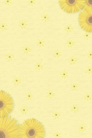 Sunflowers stationary
