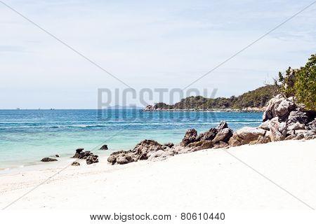 Beautiful Beach On Koh Larn (pattaya, Thailand)