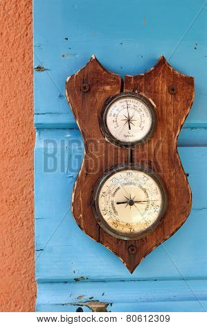 Barometer And Hygrometer