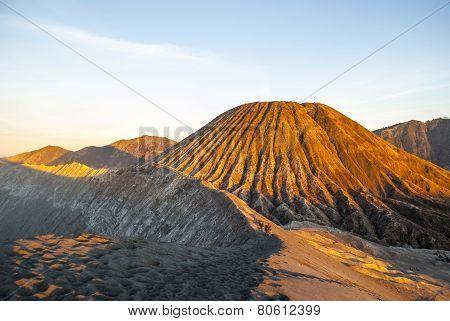 Sunrise Over Bromo Mountain, Java, Indonesia