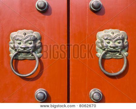 Chinese door knockers
