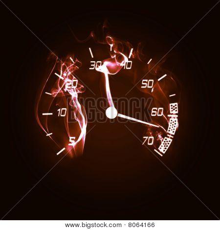 Burning Odometer