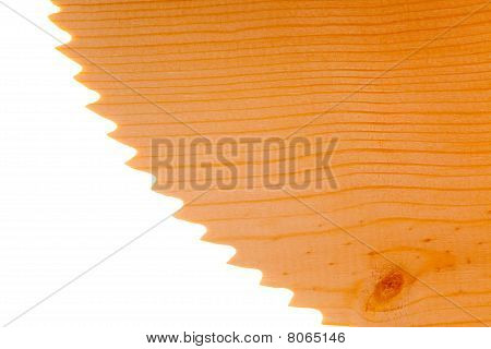 Saw Blade With Softwood Texture