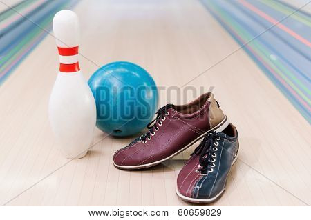 Bowling Equipment.