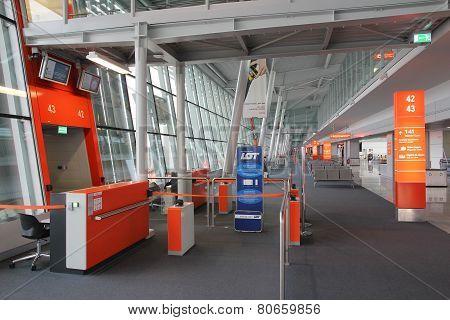 Warsaw Airport, Poland