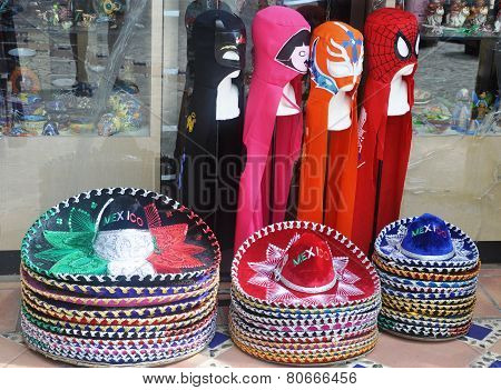 Mexican hats.