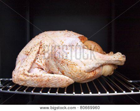 Turkey In A Propane Smoker