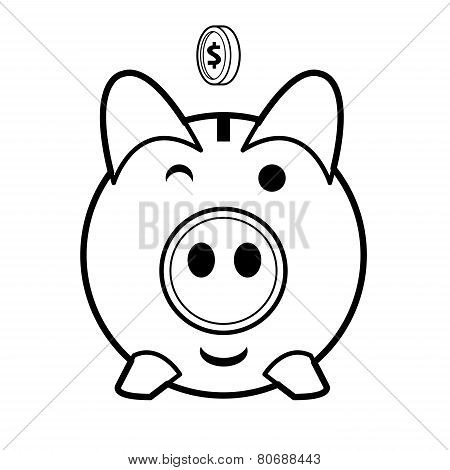 Piggy Bank Vector.eps