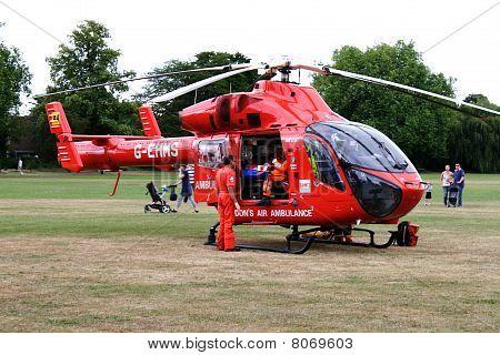 London Air Ambulance Rescue (1)