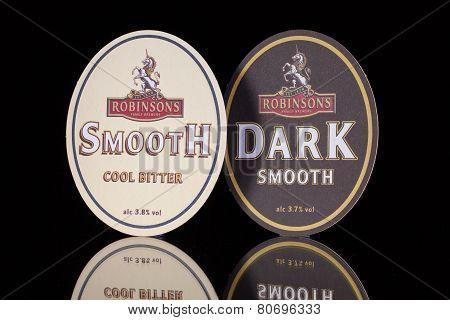 Beermats From Robinsons Beer.