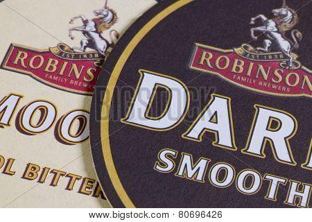 Beermats From Robinsons Beer