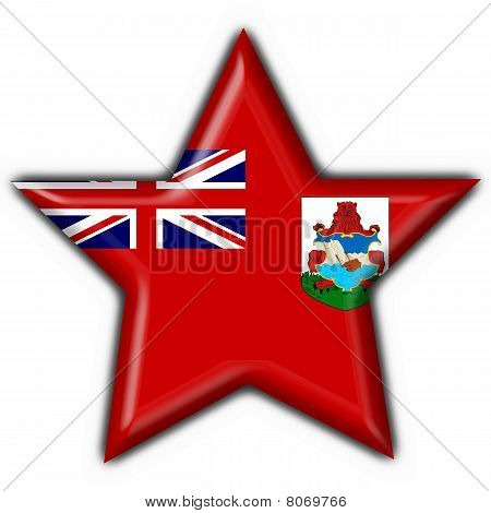 Bermuda Button Flag Star Shape