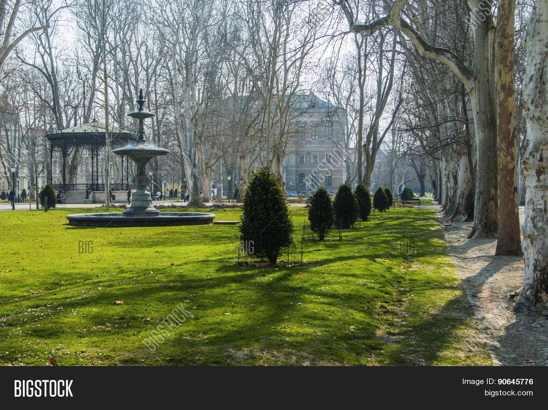 Park Zrinjevac Zagreb Image Photo Free Trial Bigstock