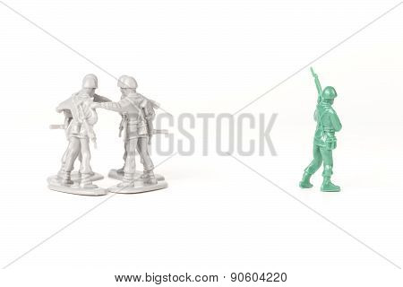 Bullying Toy Soldiers