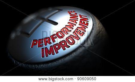 Performance Improvement. Gear Lever. Control Concept.