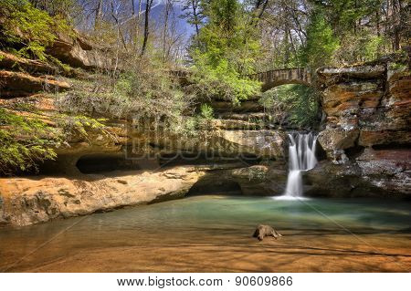 Hocking Hills Waterfall