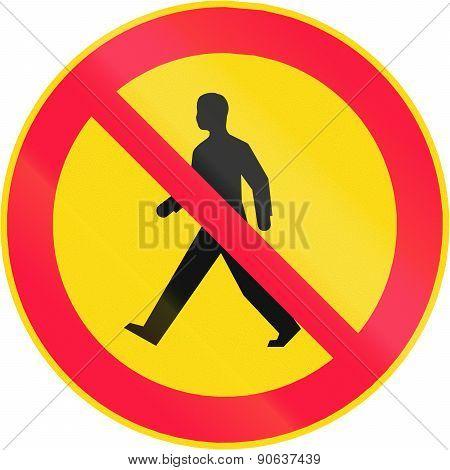 No Pedestrians In Finland