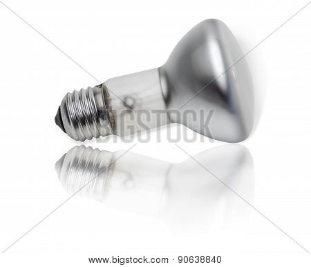 Electric Lamp With A Specular Coated Of Bulb