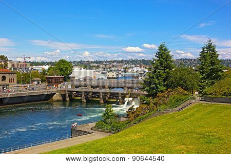 Ballard Locks in Seattle