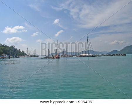 Pier At Langkawi